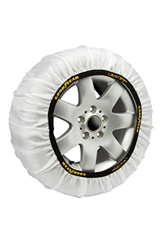 Goodyear GOD8011 Catene da Neve Tessile Ultra Grip, M, Set di 2, Nero