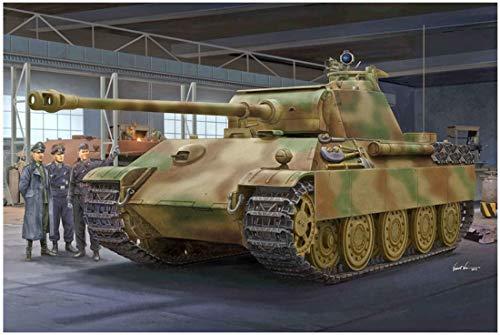 Trumpeter 000929 1/16 Panther G, Späte Version Modellbausatz, verschieden