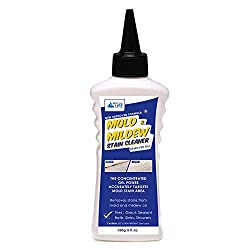 Simple to apply, wait 6-8 hours and rinse stains away, no scrubbing required Its fast acting, powerful concentrated gel formula clings to tiles, silicone sealant (around windows, sinks and baths), shower-heads, Pool and more As it is gel type, and so...
