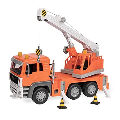 Driven WH1002Z Vehículo de camión con grúa de Batalla, Nailon/A, Escala 1: 16