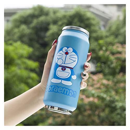 QIANSDZSW Taza de Agua Botella de Agua aislada de Fresa Linda Botella de Acero Inoxidable Termos Portátil Boca Ancha de Lata Copa Botella de Viaje 500ml (Capacity : 500ml, Color : 5)