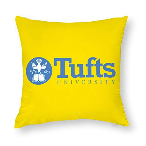 Nother Tufts University Pillow Polyester Throw Pillow Covers Home Decorations 16''×16''