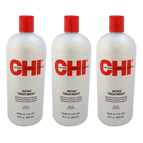 Infra Treatment by CHI for Unisex - 32 oz Treatment - (Pack of 3)