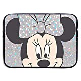 Laptop Sleeve Case Minnie Mouse Tablet Briefcase Carrying Bag for 13-15 Inch MacBook Air