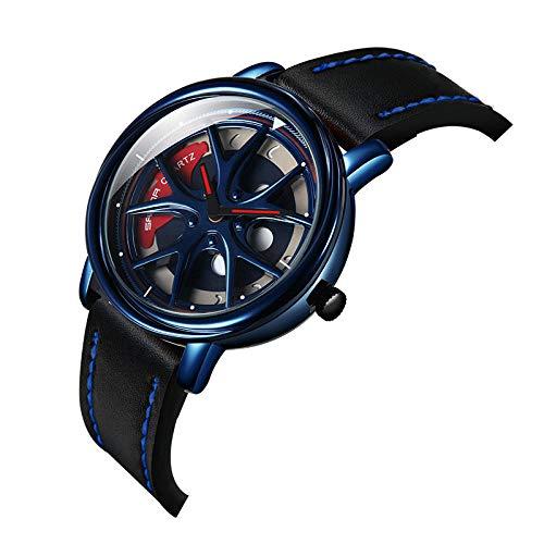 Relojes De Pulsera,Los Estilos Calientes transfronterizos de Sunda se Ejecutan en Moda y Personalidad. Reloj para Hombres.-Azul Negro