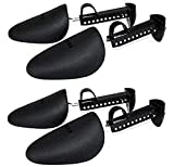 Best Shoe Trees - Upstore 2 Pairs Plastic Adjustable Length Men Shoe Review