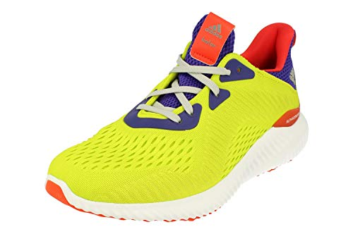 adidas Alphabounce 1 Kolor Mens Running Trainers Sneakers (UK 10 US 10.5 EU 44 2/3, Green White CQ0303)