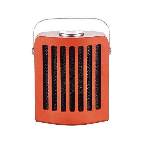 Palm kloset . Calefacción Oficina Hogar Escritorio Mini Calentador eléctrico silencioso Calentador rápido de Escritorio Calentador (Azul, Verde, Naranja) (Color:Azul) (Color : Orange)