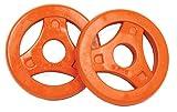 Tunturi Aerobic Scheiben Gummi 0,5 kg (Orange) Hantelscheiben, one Size