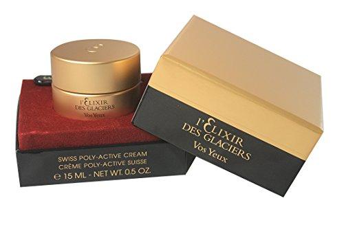 Valmont L'Elixir Des Glaciers Vos Yeux Anti-Puffiness Eye Contour Cream, 0.21 Pound
