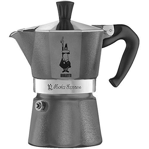 Bialetti 5312 Moka Emotion Espresso Maker, Grey