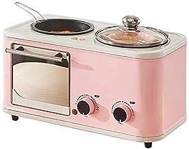 JHTD Breadmakers, Máquina de Desayuno multifunción Hogar Tres en uno Horno eléctrico Mini Fabricante de Sandwich Fabricante de Pan