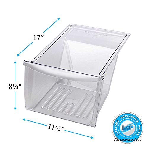 Lifetime Appliance 240337103 Crisper Bin Compatible with Frigidaire Refrigerator - 240337100
