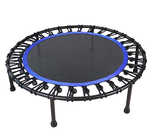 LKFSNGB Trampolin, 40-Zoll-Mini-Fitness-Trampolin für Indoor-Aerobic, geeignet für Fitness und Muskelaufbau