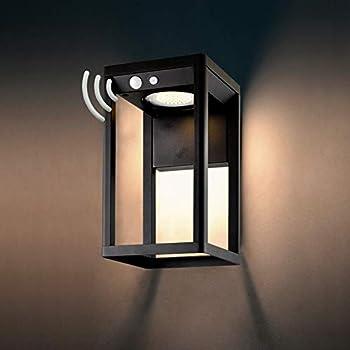 Brimmel 60W Motion Senor Outdoor Solar Wall Light