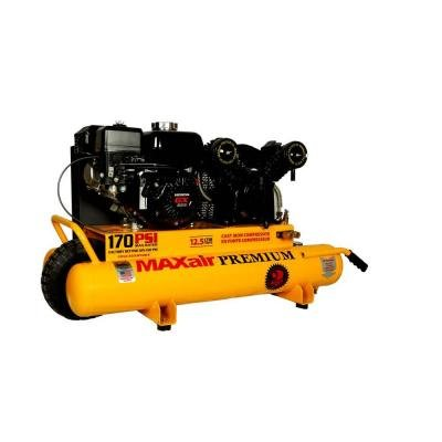 Maxair 10-Gal. Portable Gas-Powered Air Compressor