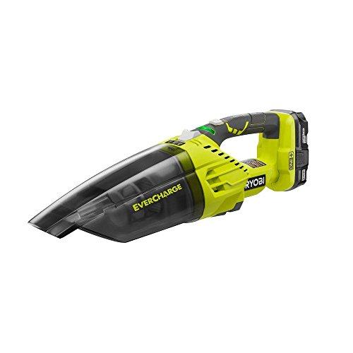 RYOBI P714K 18V One+ Evercharge Cordless Hand Vacuum Kit