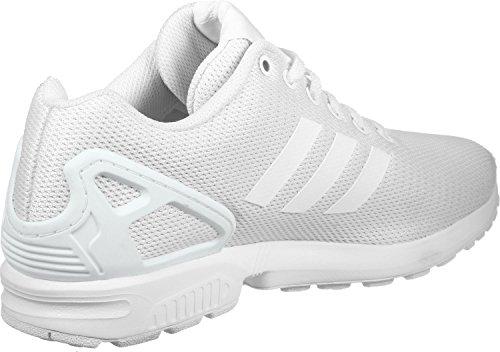 adidas Unisex ZX Flux Weiß Textil/Synthetik Sneaker 48