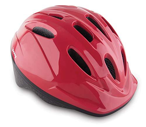 Joovy Noodle Multi-Sport Helmet S-M, Kids Adjustable Bike Helmet, Red