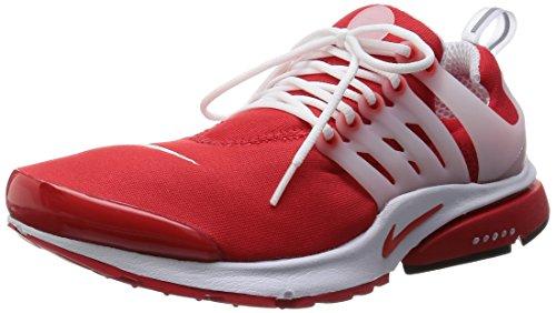 Nike Mens Air Presto Comet Red/Comet Red/Black/Wht Running Shoe Mens Medium (10-11 Men US)