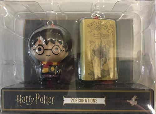 Primark Harry Potter Oficial Adornos de Navidad Harry y Mapa del Merodeador