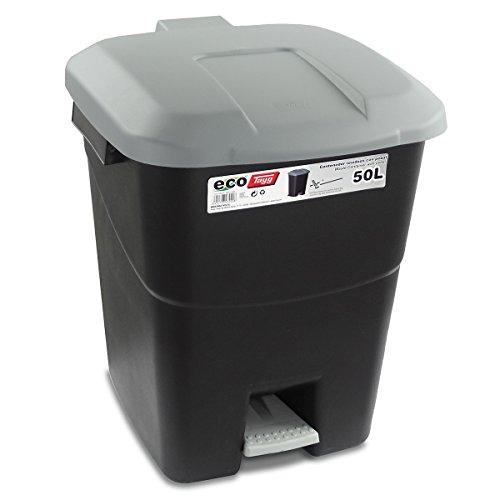 Tayg 430008 Contenedor de residuos, Tapa Gris
