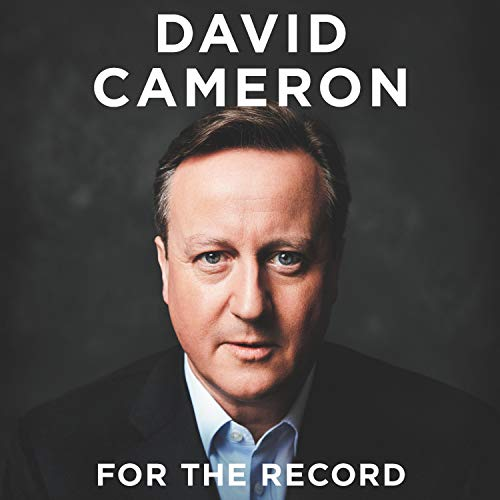 For the Record audiobook cover art