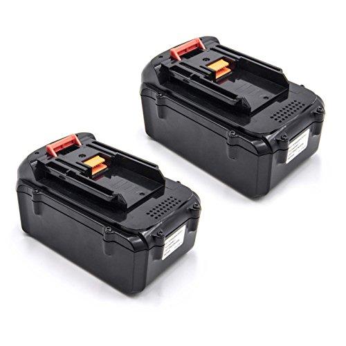 vhbw 2x Baterías Li-Ion 3000mAh (36V) para herramienta eléctrica powertools tools Dolmar AM-3643, cortacésped a batería