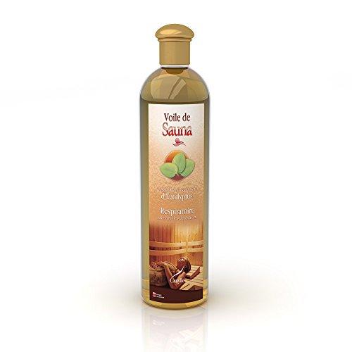camylle–Voile De Sauna–Sauna Aroma de aceites etéreos–Eucalipto–Transpirable–500ml