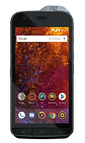 CAT PHONES Cat S61 Caterpillar - Smartphone 64Gb, 4Gb Ram, Dual Sim, Black