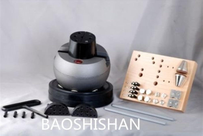 魅力有名な出力BAOSHISHAN 110V/220V 新品 スタンダードブロック ベアリング彫刻台 エングレービング 30ピースセット付 (220V)