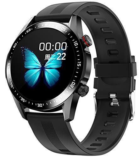 Fitness Armband Smartwatch Herren Damen Pulsuhr Uhr mit Blutdruckmessung Laufuhr Sport Schrittzähler Bluetooth Anruf Wasserdicht