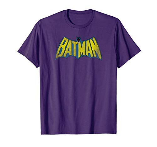 Batman Classic Logo Distressed T-Shirt