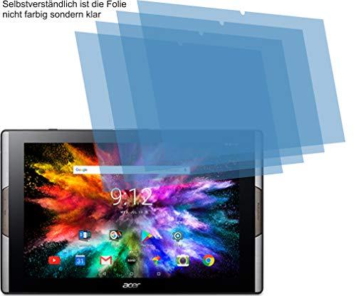 4ProTec I 4X ANTIREFLEX matt Schutzfolie für Acer Iconia Tab 10 A3-A50 Bildschirmschutzfolie Displayschutzfolie Schutzhülle Bildschirmschutz Bildschirmfolie Folie
