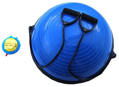 Lisaro - Balance Stühle für Gymnastikbälle in schwarz-blau, Größe Ø 58 cm