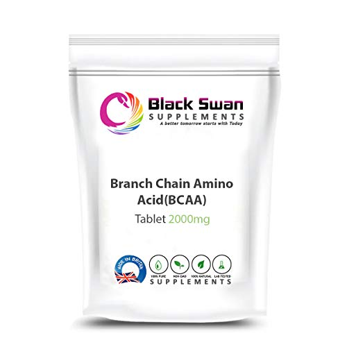 Black Swan BCAA 2000mg Tablet - for Weight Loss and General Wellbeing – Natural Supplement (120 caps)