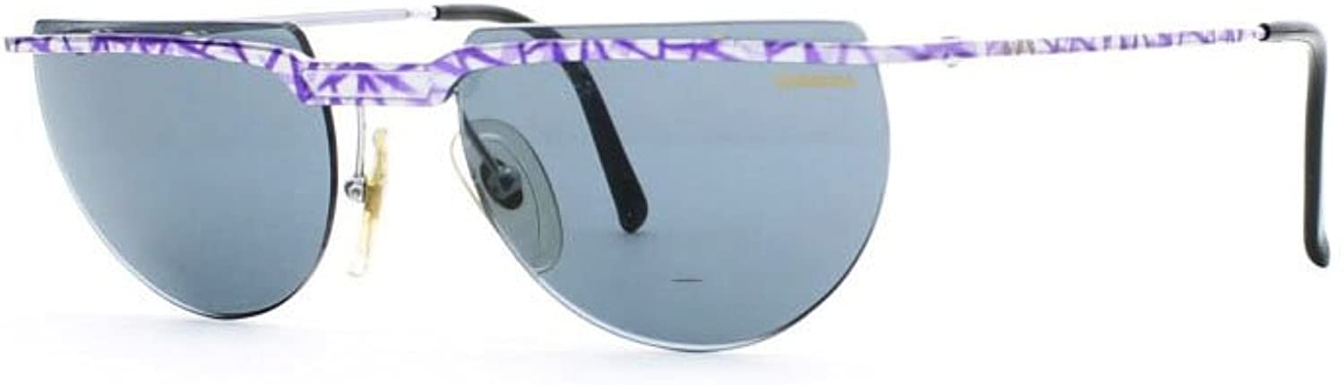 Carrera 5509 80 bluee and Silver Authentic Men  Women Vintage Sunglasses