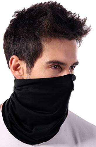Neck Gaiter Face Mask - Reusable & Washable Face Cover & Shield - Breathable Face Covering Sleeve,...