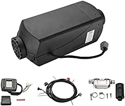 VVKB Apollo-V2 Diesel Air Heater Parking Heater 12V 5WK/16000BUT Environmental Protection Economy Quiet Suitable for Cars Trucks RV Tent and Many More CE FCC RoHS