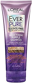 2-Pack Loreal Paris EverPure Sulfate Free Brass Toning Purple Shampoo