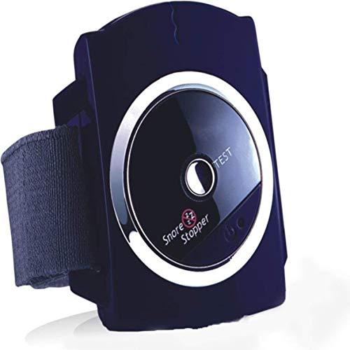 HONGMEI Schnarchstopper - Anti-Snore Handgelenk Band - Schnarch-Stopper mit Bio-Feedback-Impuls Klebepads (Anti Schnarch Uhr) für Mund Breathers, Damen Herren, Kinder