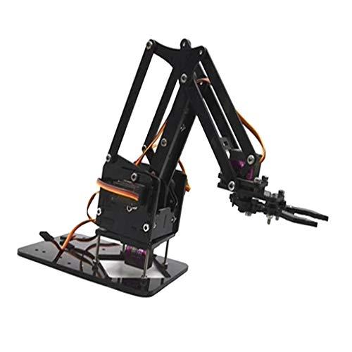 B Baosity DIY WiFi Roboterarm Bausatz Set mit 4X Servos und Schrauben für Arduino,...