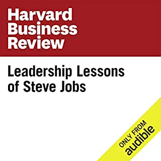 Leadership Lessons of Steve Jobs  cover art