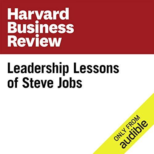 Leadership Lessons of Steve Jobs  cover art