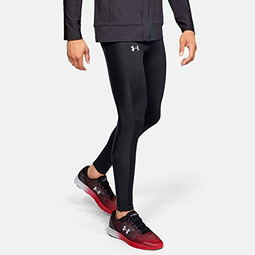 Under Armour Herren Leggings ColdGear Run, Schwarz, LG, 1317489-001