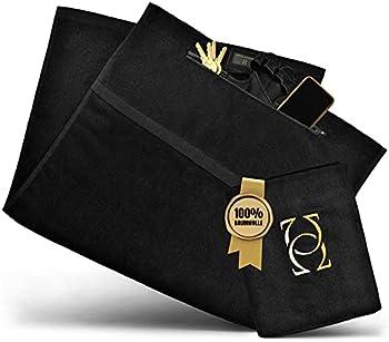 Absolute - Us® Fitness Towel - Serviette de sport en coton 100% certifié - Votre serviette de gym en tissus extra épais pour votre confort particulier.