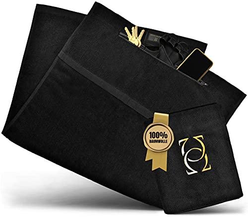 Absolute - Us® Toalla de fitness - Toalla deportiva hecha de algodón 100% certificado - Tu toalla de gimnasio hecha de tejidos extra gruesos para tu comodidad especial