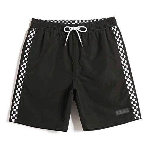 IENPAJNEPQN Traje Atractivo de la Playa de baño Pantalones Cortos de Verano Hombres de baño de Secado rápido de Tabla de Surf Hawaiano Bermudas Cortocircuitos del Tablero de Malla Briefs