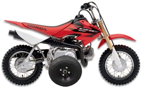 BYP_MFG_INC Adjustable Height Honda CRF50 / XR50 / Z50R Kids Youth - Training Wheels ONLY -