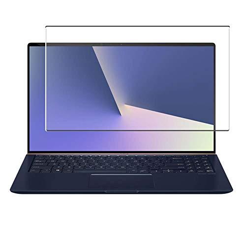 Vaxson Protector de Pantalla de Cristal Templado, compatible con Asus ZenBook 15 UX533FD 15.6' 2019 [solo área activa] 9H Película Protectora